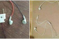 8 Bentuk earphone nyeleneh ini bikin mikir dua kali buat memakainya