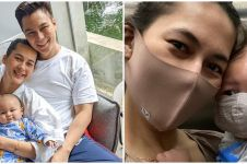 Potret anak 8 seleb pakai masker saat pandemi, ada baru usia 5 bulan