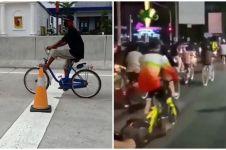 5 Aksi pesepeda di jalan ini sukses bikin kamu jengkel