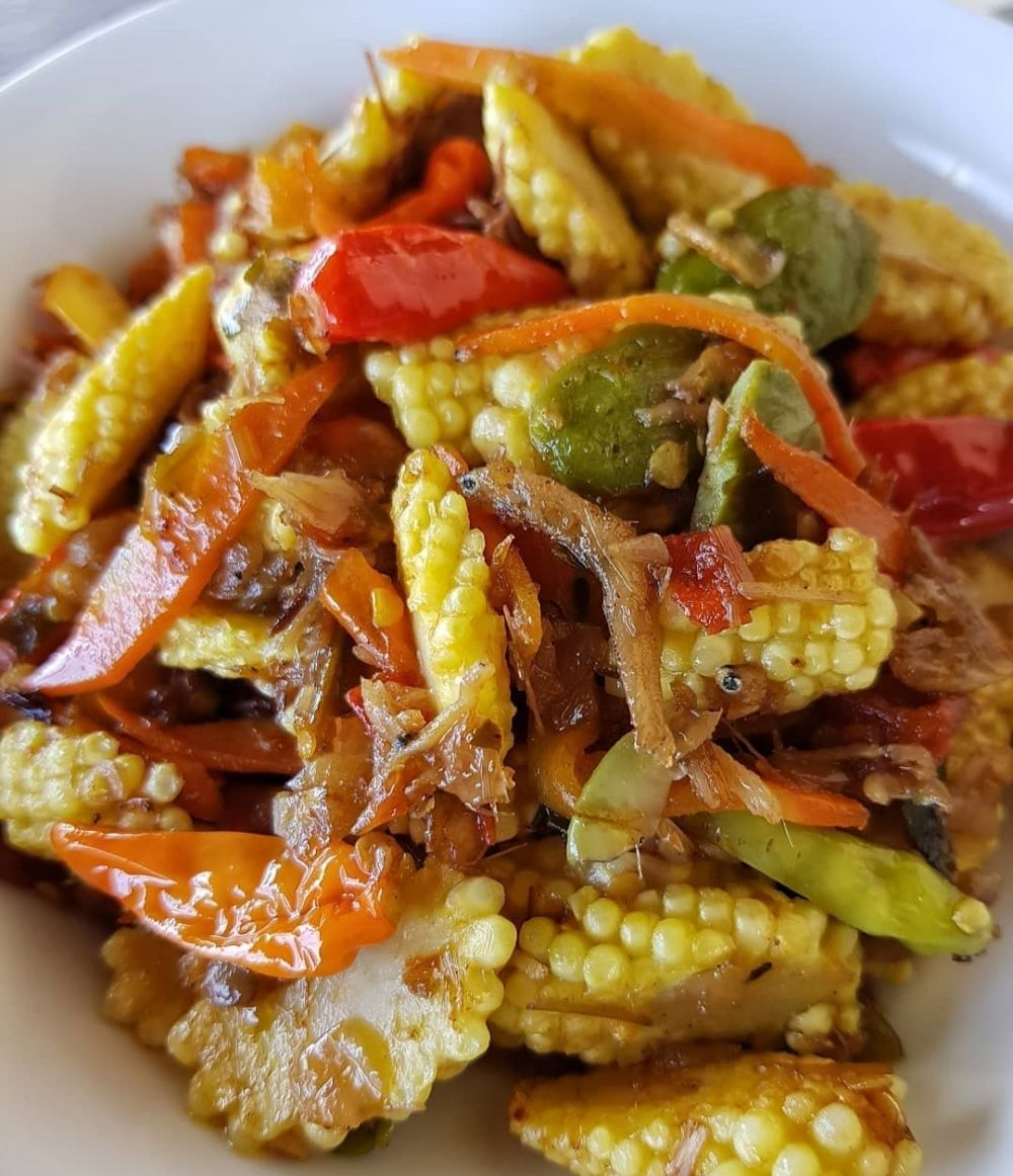 Resep sayur jagung muda © 2020 brilio.net