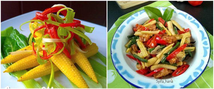 10 Resep sayur jagung muda, enak, praktis, dan antigagal
