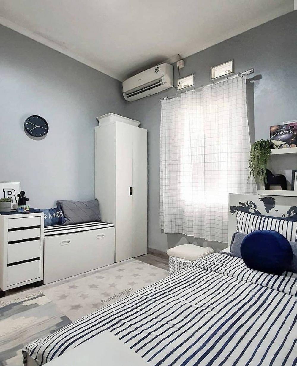 20 desain kamar aesthetic cowok nyaman dan keren