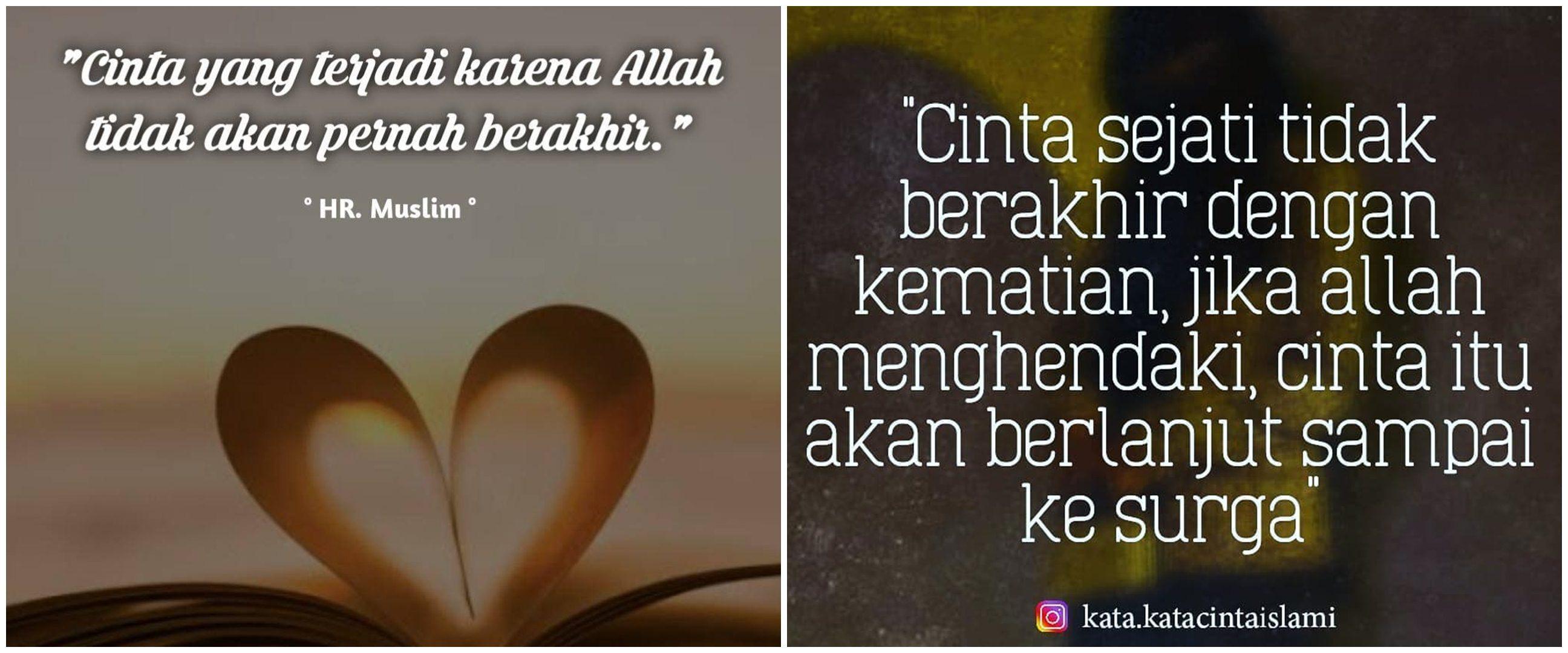 50 Kata-kata bijak cinta Islami, penuh makna dan menyejukkan hati