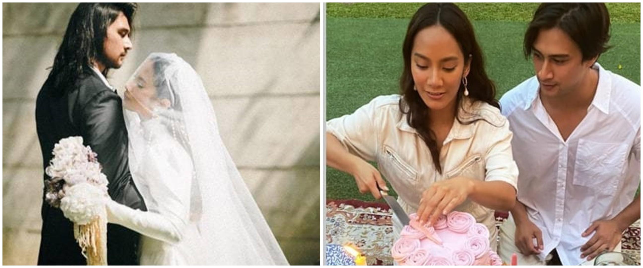 10 Potret resepsi pernikahan Tara Basro dan Daniel Adnan, pesta kebun