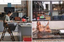 9 Potret rumah Mieke Amalia, dapurnya bikin salah fokus