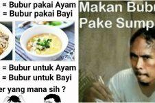 10 Meme lucu bubur ayam, bikin ketawa sampai lapar