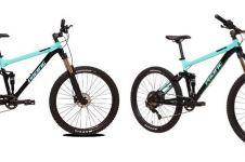 Harga sepeda Pacific Foster 5.0 dan spesifikasinya, full suspensi
