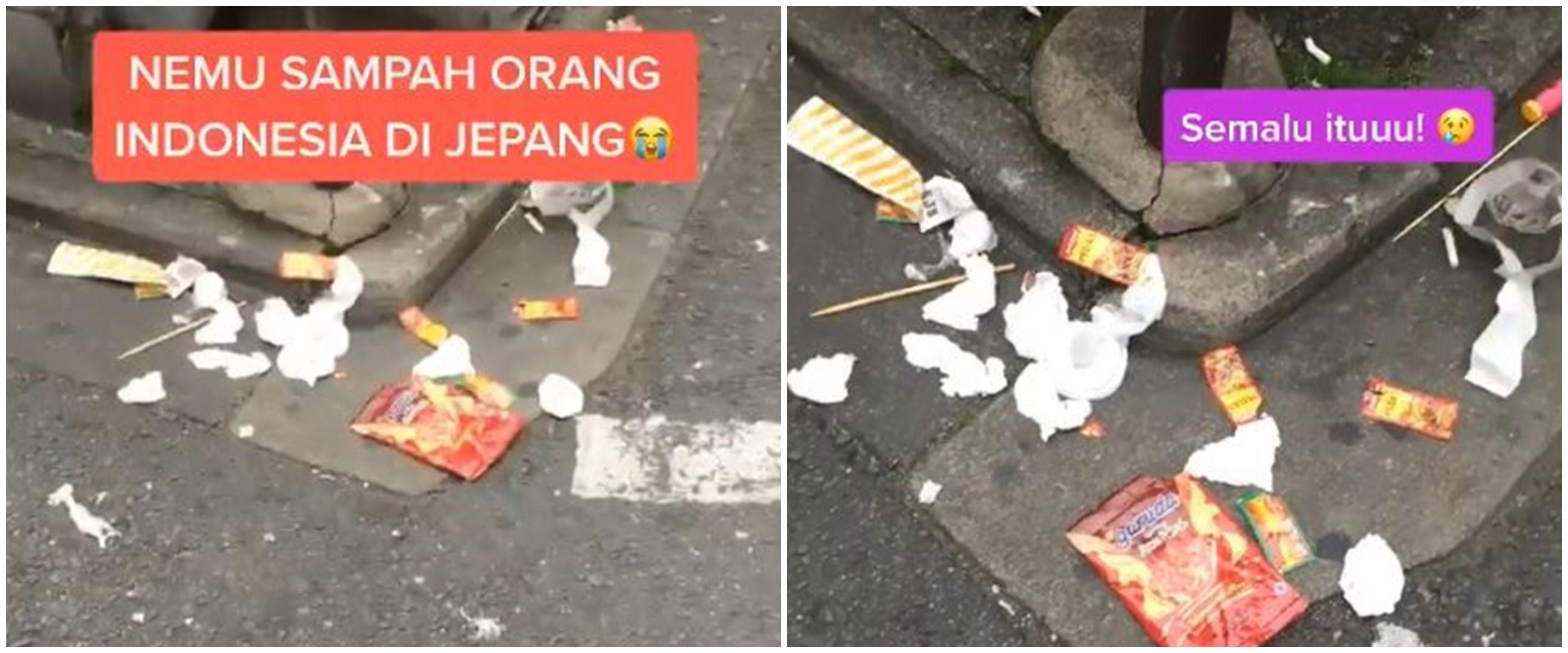 Video viral sampah produk Indonesia berserakan di Jepang
