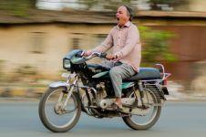 Viral pengendara motor tewas kecelakaan, diduga karena microsleep