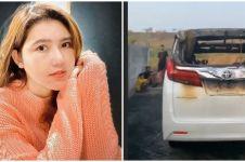 3 Selebriti ini mobilnya terbakar, terbaru Alphard Via Vallen