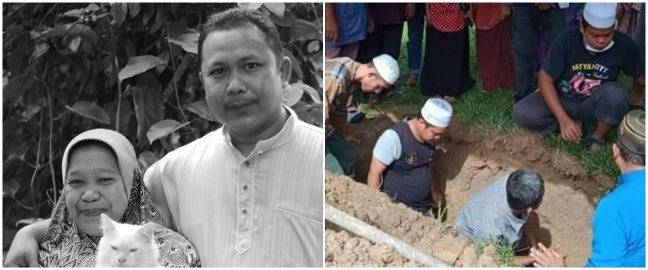 Kisah seorang pria meninggal satu jam usai kebumikan sang ibu