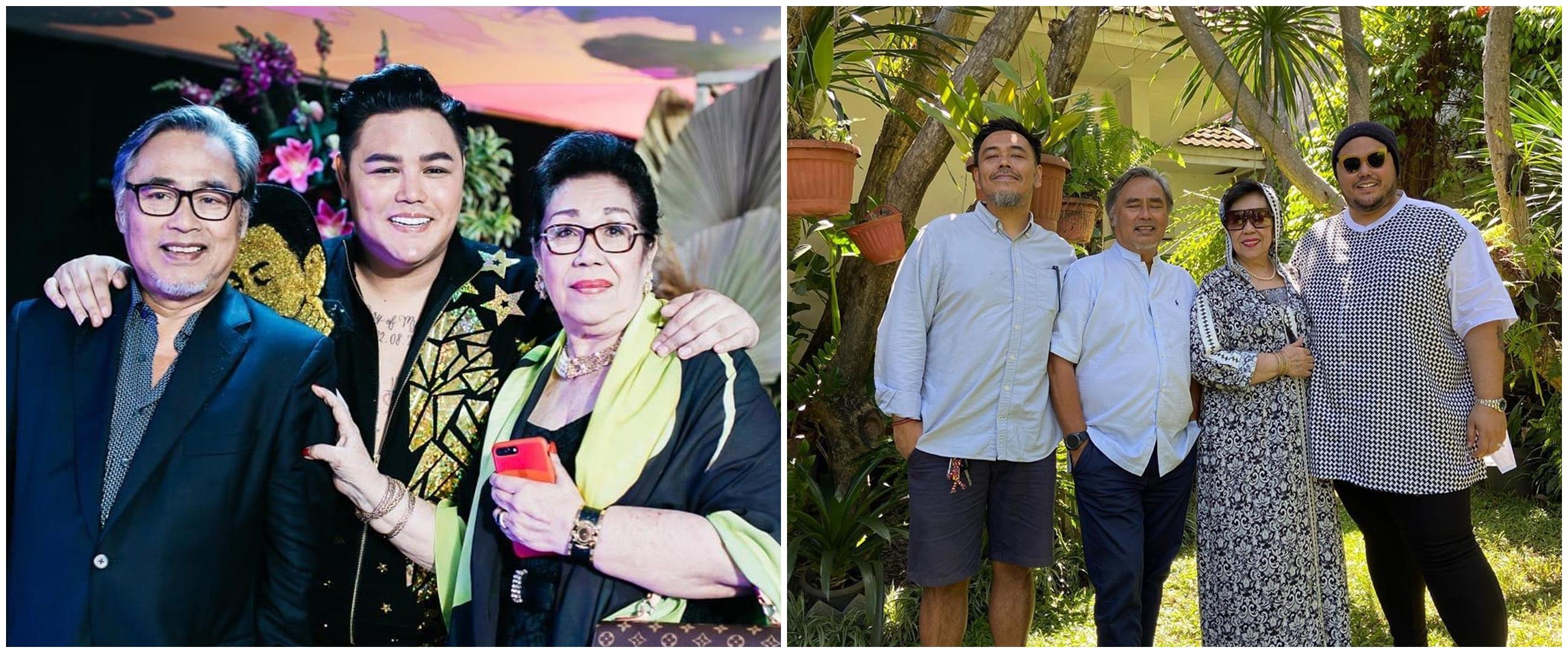 Jarang tersorot, ini 8 potret Ivan Gunawan dan keluarga