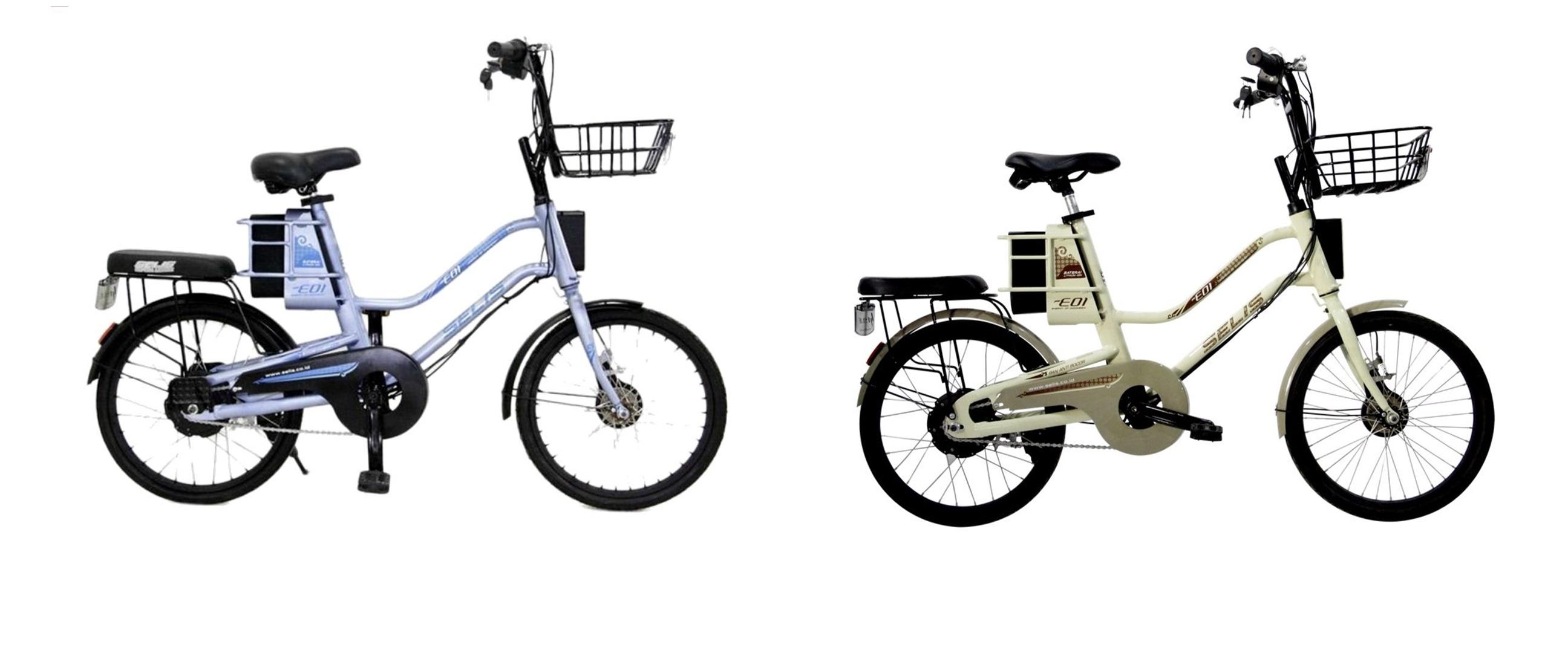 Harga sepeda listrik Selis EOI dan spesifikasi, ringan & keren