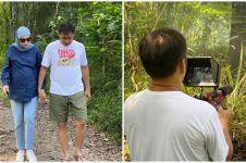 8 Momen seru Zaskia Mecca & keluarga main di hutan, sambil syuting