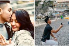 10 Seleb cantik ini dilamar kekasih saat liburan di luar negeri, sweet