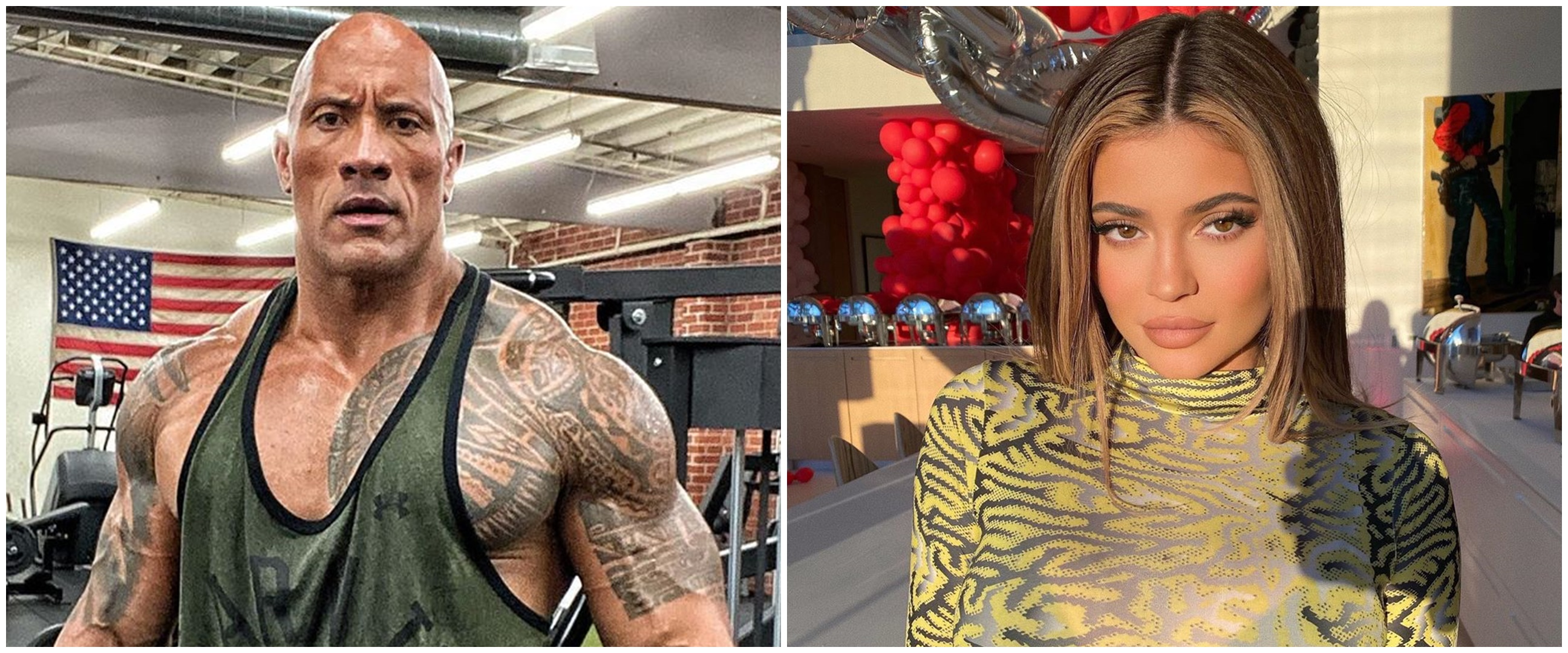 Dwayne Johnson raup Rp 14,5 miliar dari IG, kalahkan Kylie Jenner