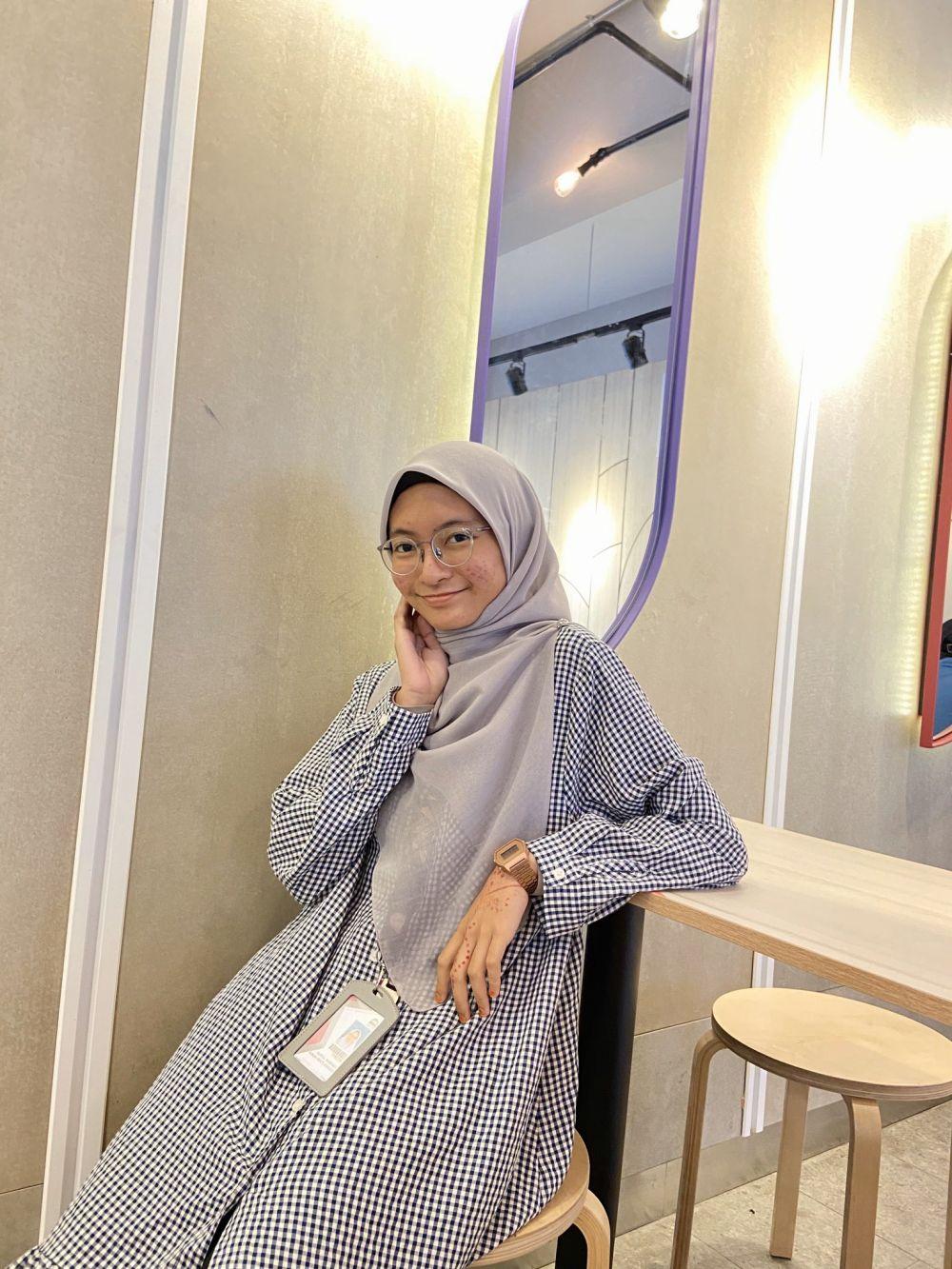 potret Nurul Nabihah Twitter