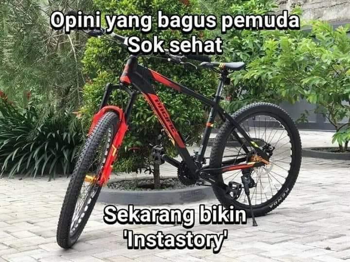 Meme sepeda tidak taat aturan Berbagai sumber