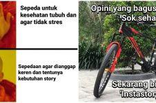 10 Meme lucu pesepeda kekinian ini sadarkan untuk taat aturan