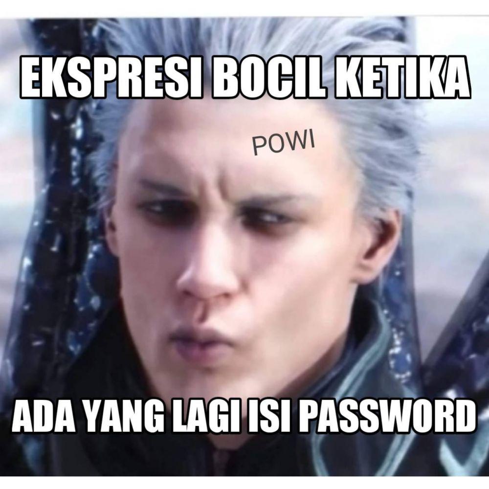 Meme lucu password Berbagai sumber