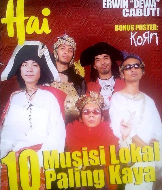 band Tanah Air di majalah lawas Instagram