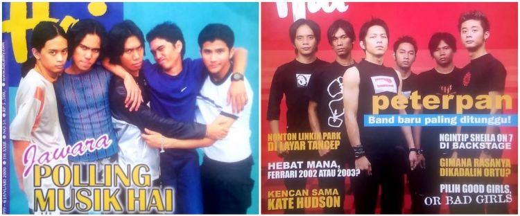 Potret 10 band Tanah Air di majalah lawas, nostalgia