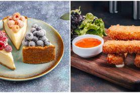 12 Resep jajanan keju paling enak, sehat, istimewa, & mudah dibuat