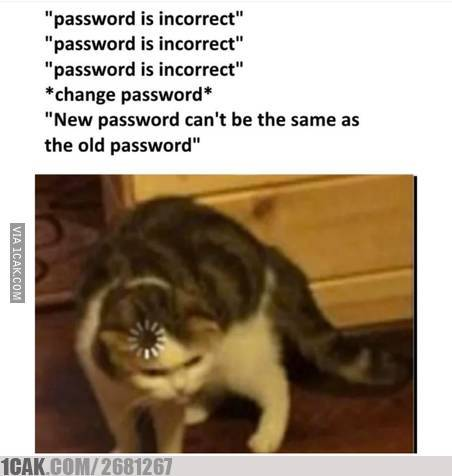 Meme lupa password media sosial 1cak.com