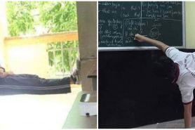 10 Momen lucu siswa terlalu santai di sekolah ini kocak abis