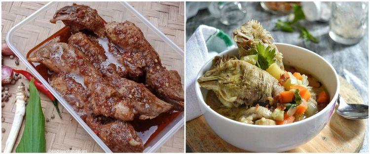 12 Resep olahan kepala ayam lezat, simpel dan bikin nagih