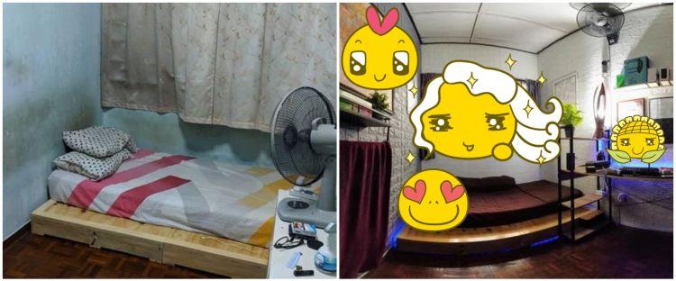 Awalnya kumuh, 10 potret transformasi kamar tidur ini keren abis