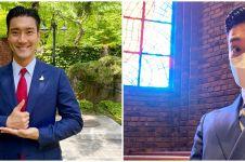 Siwon unggah potret wajah brewokan & berkumis, bikin heboh netizen