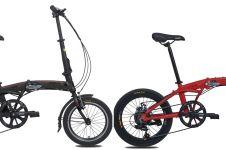 Harga sepeda lipat Pacific Veloce dan spesifikasinya, desain stylish