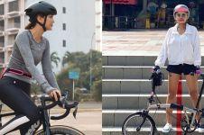 Hobi gowes, ini harga sepeda yang dipakai 8 seleb Indonesia