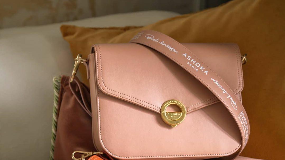 Unik, tas ini terbuat dari kulit apel dan limbah plastik