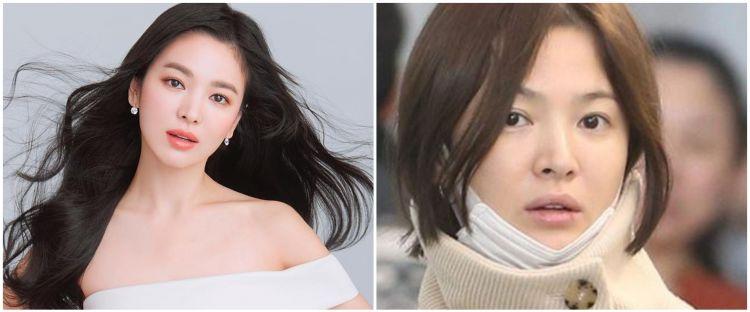 Potret 10 seleb Korea pakai vs tanpa makeup, tetap glowing