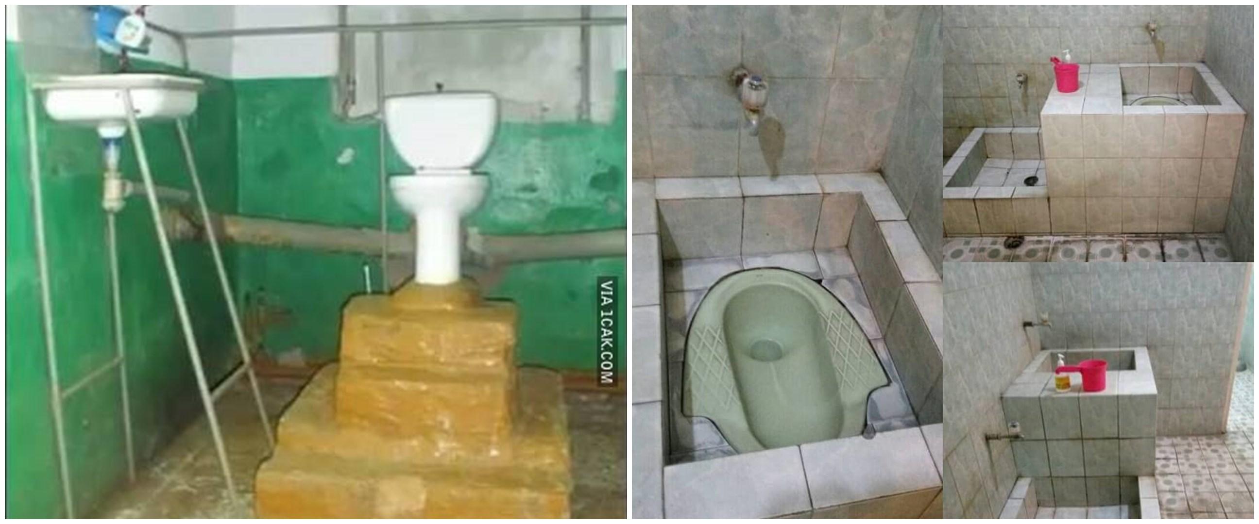 20 Potret lucu toilet rumah, desainnya nyeleneh abis