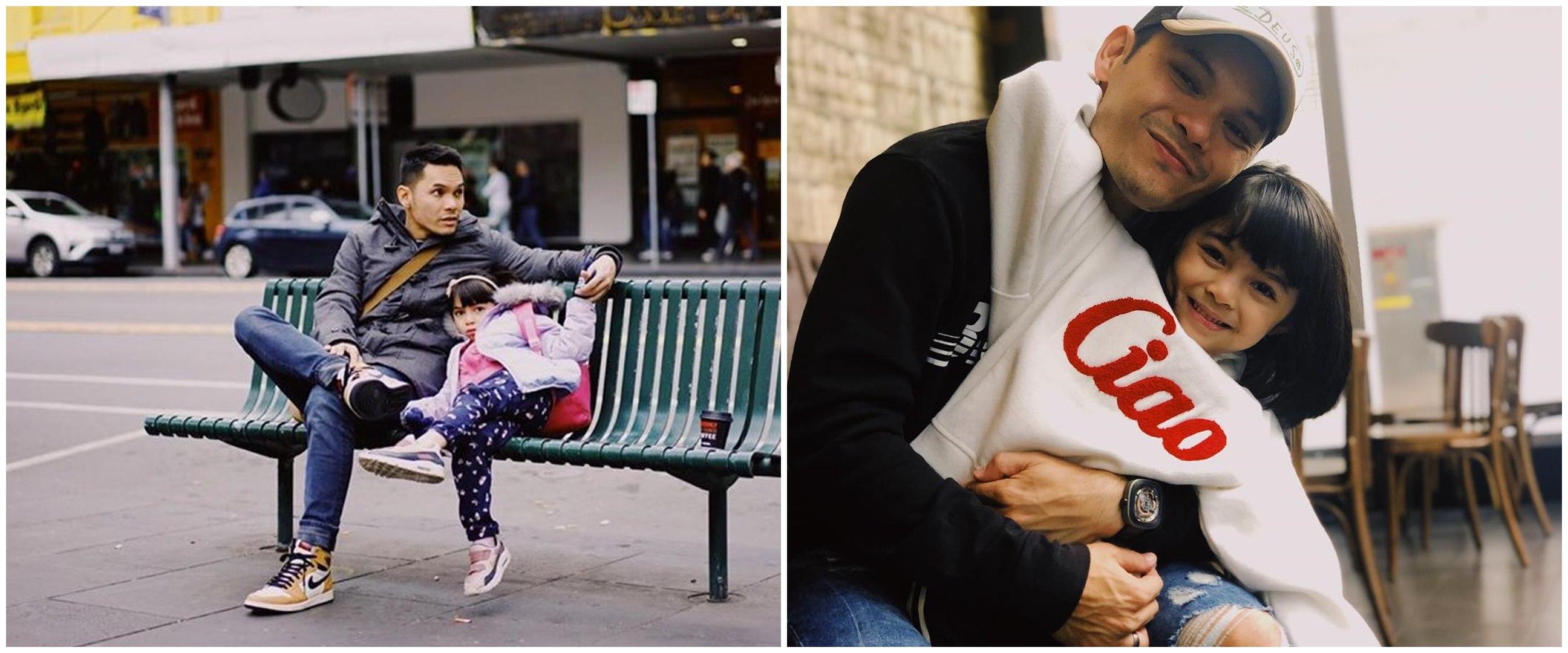 Rayakan ultah bareng anak, 10 potret Ben Kasyafani & Sienna Ameerah