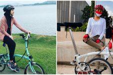 Harga sepeda lipat 8 seleb cantik, ada capai ratusan juta