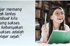 60 Kata-kata motivasi untuk anak sekolah, bikin semangat gapai mimpi