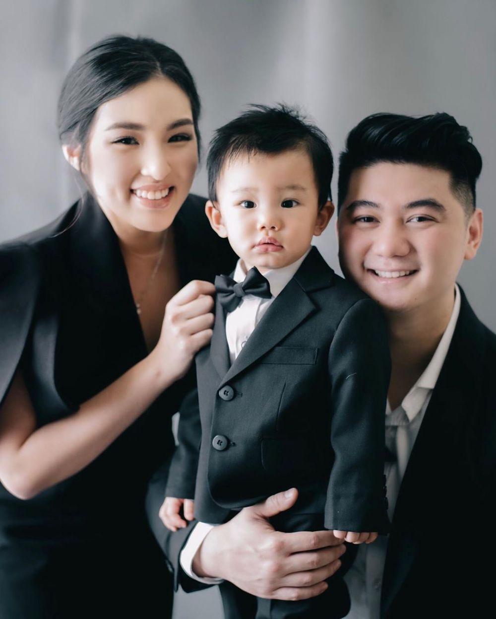 pemotretan keluarga Chef Arnold Instagram