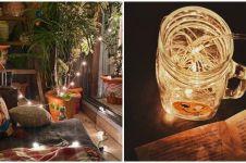 10 Cara dekorasi kamar dengan hiasan lampu LED