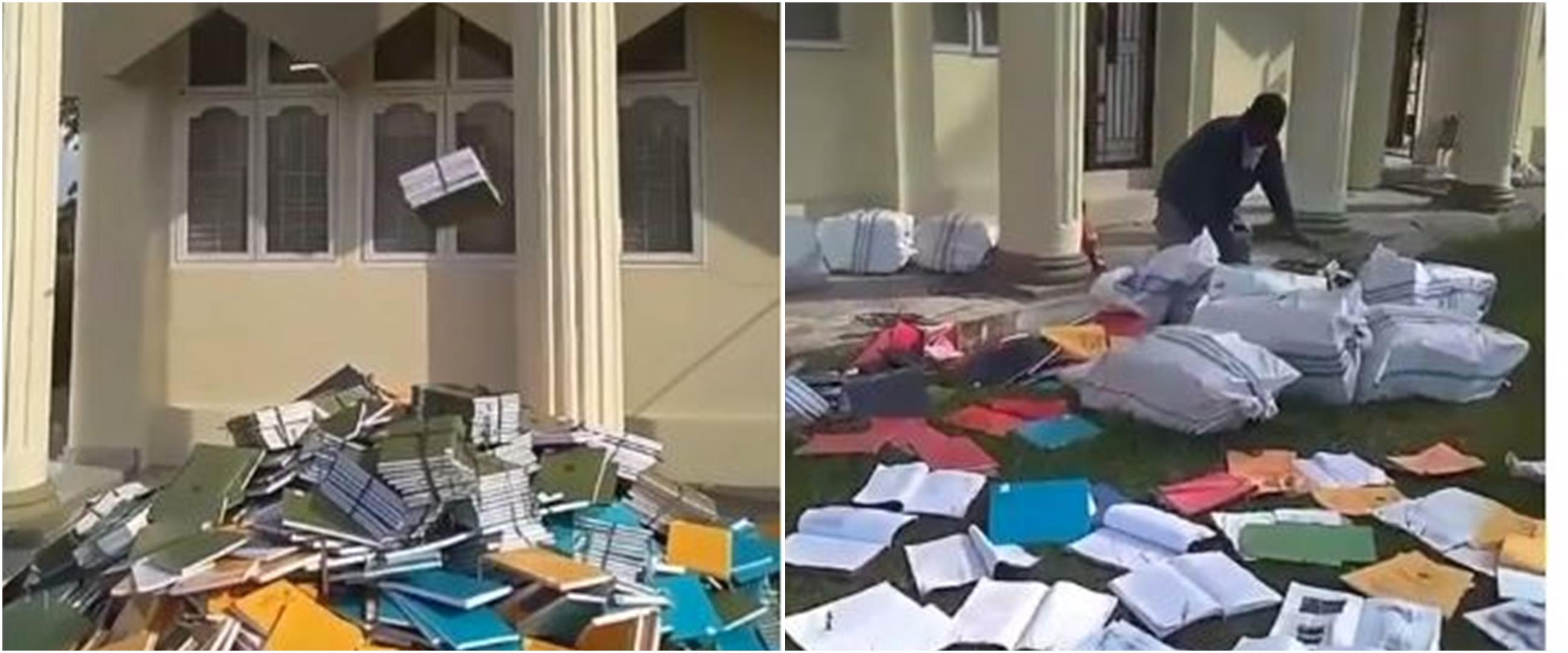 Viral video skripsi dibuang dari jendela kampus, ini 4 faktanya