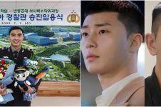 7 Potret tampan Fadhil, Perwira Polri yang naik pangkat di Korea