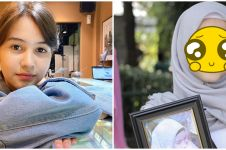 7 Potret lawas Sandrinna Michelle saat SD, aura bintangnya sedari dulu