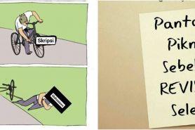 10 Meme lucu 'korban skripsi' ini bikin mahasiswa ketawa ngenes