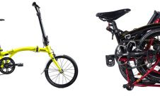 Harga sepeda lipat United Trifold dan spesifikasi, modern & canggih