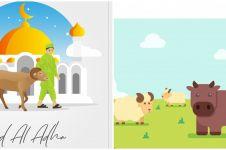 40 Kata-kata ucapan selamat Idul Adha 2020, lengkap & menyentuh hati
