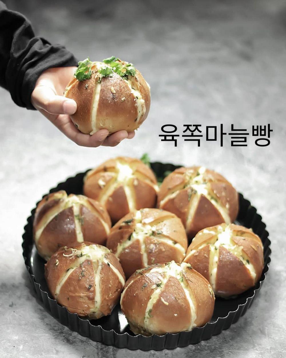 resep cream cheese garlic bread berbagai sumber