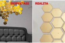 Realita 10 perabot dan dekorasi rumah di online shop bikin kesal